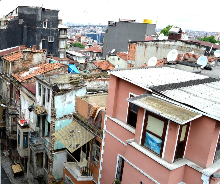 taksim neighborhood poverty