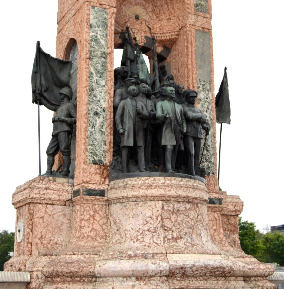 Taksim square statue 1