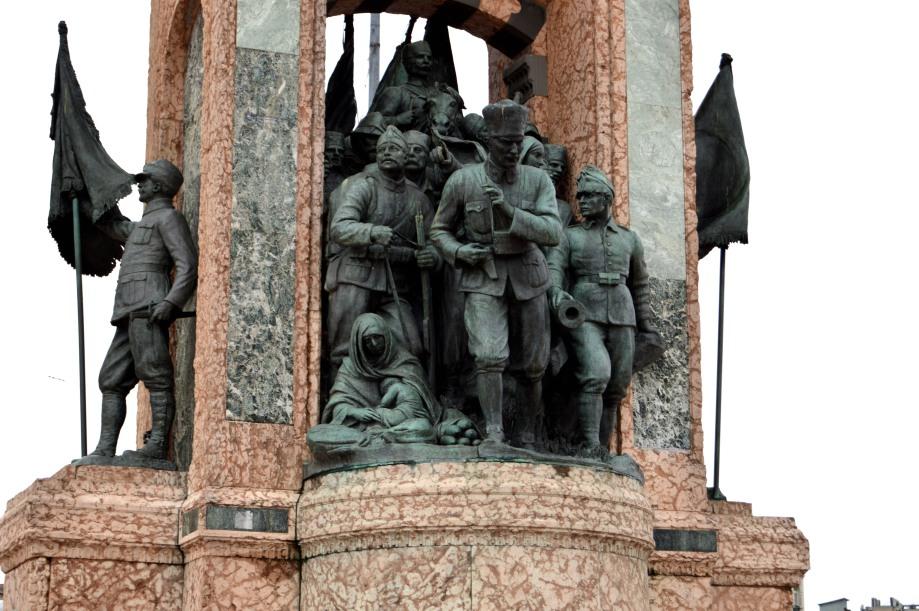 Taksim statue