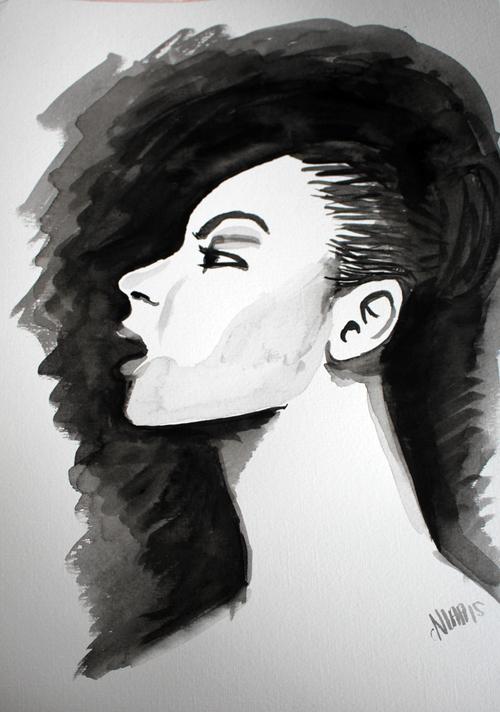 woman_black'nwhite